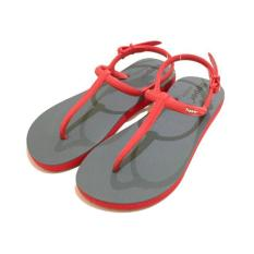 Sandal Fipper Strappy Grey Red