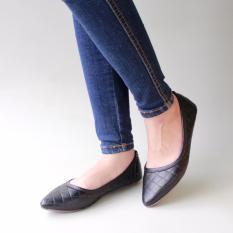 Jual Gratica Sepatu Flat Shoes B05C Hitam Lengkap