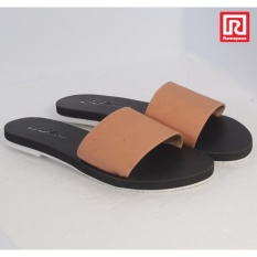 Ramayana - Jj Shoes - Sandal Flat Wanita  Motif Kokop Salem – Jj Shoes 07970758 (36)