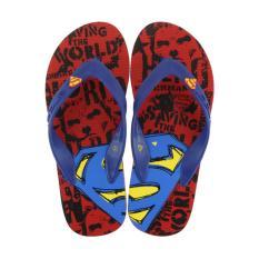 Kualitas Sandal Flip Flop Superman Limited Edition Spm 045 Merah Superman