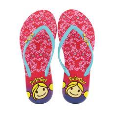 Sandal Flip Flop Surfer Girl Limited Edition SG 97 R Merah