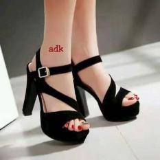 Harga Sandal High Heels Wanita Sdh155 Baru Murah