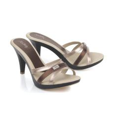 Harga Sandal High Heels Wanita Sendal Cewek Warna Krem Ljp 553 Blackkelly Jawa Barat