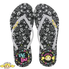 Sandal Japit Flip Flop Surfer Girl Limited Edition SG 166 [Hitam]