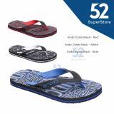 Jual Sandal Jepit Dylan Hitam Biru Size 38 42 Murah Jawa Barat