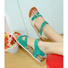 Spesifikasi Sandal Jepit Santai Nafiza Cream Toska Nfz 05 Merk Nafiza