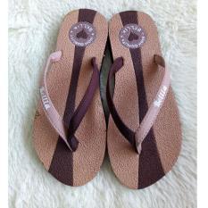Sandal Jepit Wanita Motif Bella Warna  Coklat