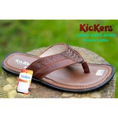 Beli Sandal Kickers Pria Kulit Kickers