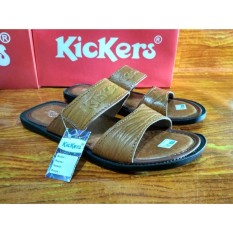 Kickers Sandal Kulit Pria - Sandal Kickers Pria - Sandal Kulit Sandal Pria kickers kulit