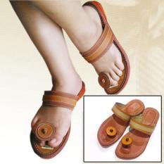 Sandal Kulit Wanita 100% Bahan Kulit Sapi Made In Magetan - KD407