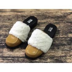 Jual Sandal Manita Plat Bulu Online