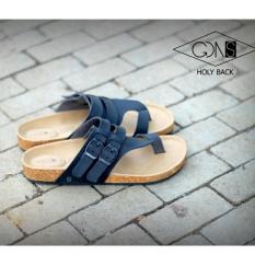 Harga Sandal Pria Casual Goodnes Holly Black Goodness Footwear Baru