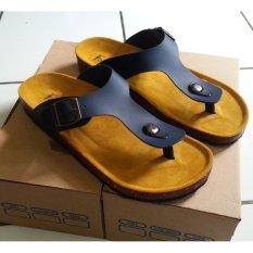sandal pria - Jepit Hitam