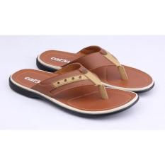 Sandal Pria Kulit IM 005 (Sendal Bandung, Sandal Cowok, Sandal Cibaduyut)