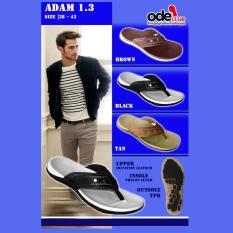 Sandal Pria Merk Ode Model Adam 1 3- Elegan Kuat Nyaman Dipakai