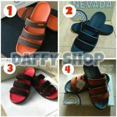 Sandal Pria Nevada Oranye
