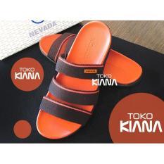 Sandal Pria Nevada Oranye- Merah- Biru Murahhhhhhhhhh - B35cde