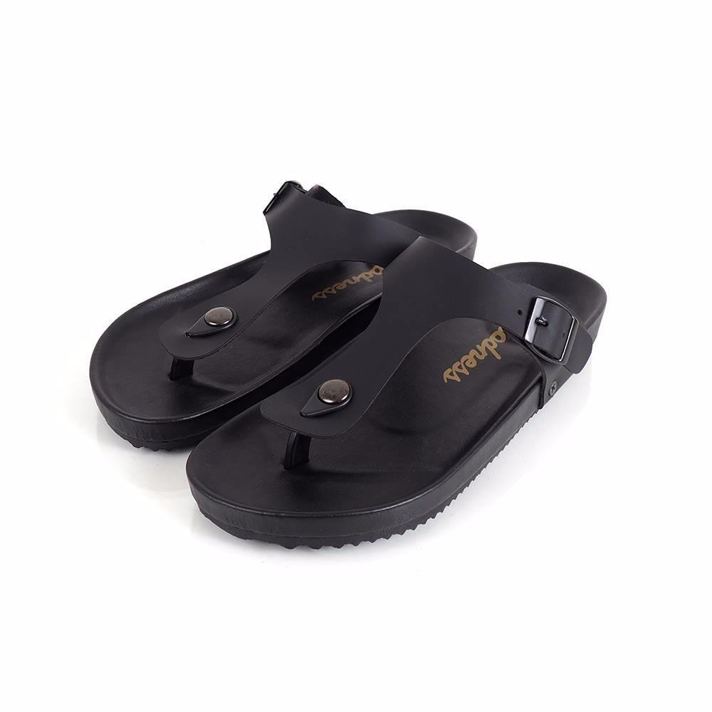 Jualan Diskon Catenzo Sandal Gunung Pria Outdoor Red Navy Jj 109 Full Black Kulit Casual Goodness Footwear Fashion Hold