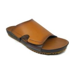Spesifikasi Sandal Sendal Kulit Pria Max Polo Tdp 01 Brown Terbaik
