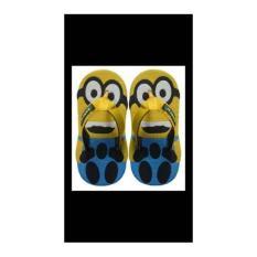 Sandal Sendal Sancu Lucu Jepit Anak Karakter Minion Kuning