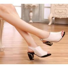 Miliki Segera Sandal Wanita Murah Heels Ip21 Cream