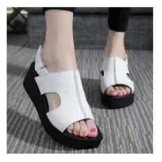 Sandal Sepatu Wedges OJ02 100% ASLI CIBADUYUT