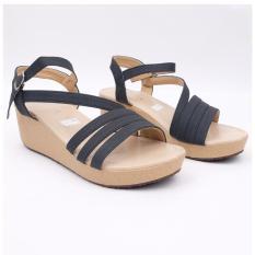 Sandal Sepatu Wedges Wanita Murah Sabrina Xr Tali Simple