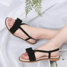 Sandal Teplek Wanita Cantik Model Terbaru Design Simple Harga Terjangkau Dan Berkualitas Warna Hitam