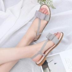 Sandal Teplek Wanita Cantik Model Terbaru Design Simple Harga Terjangkau Dan Berkualitas Warna Abu