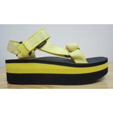 Sandal Teva Flatform Universal Candy Strip Yellow - 1008844-CS-YLW