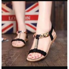 Sandal Wanita Cantik Tali Kepang