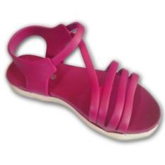 Sandal Wanita Cantik Wedges ( Sepatu / Sendal Cewek ) - Purple