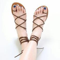 Sandal Wanita Flat Tali [W26]