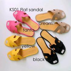 Sandal Wanita - Sandal Flat - Modis Murah Grosir