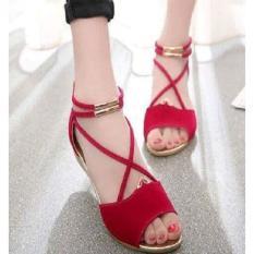 Sandal Wanita Tali Wedges SDL60 | Modis Casual dan Trendy sangat berkualitas