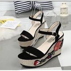 Sandal Wedges Wanita NN 45
