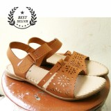 Review Sandal Yakuta Laser Cut Leather Trendy Best Seller Terbaru