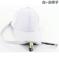 Tiga Cincin Topi Model Sama Gelang Besi Topi Baseball Merah WTA (File klip putih + keputihan)