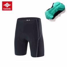 Diskon Santic Cycling 4D Padded Shorts Bike Short Pants Casual Shorts For Summmer Intl Branded