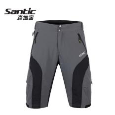 Spesifikasi Santic Kasual Musim Panas Sepeda Gunung Naik Pakaian Celana Abu Abu Lengkap
