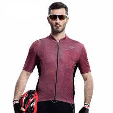 Jual Santic Pria Jersey Lengan Bang Pendek Musim Panas Bersepeda Bernapas Cepat Kering Sinar Uv Bukti Branded Original