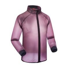 Santic Bersepeda Uniseks Tahan Angin Anti-Air Jaket Angin Hujan Mantel UPF40 + Bernapas Matahari Pelindung Sepeda Sepeda Jersey