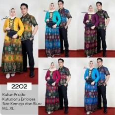 Batik sarimbit gamis exclusiveIDR215000. Rp 216.000
