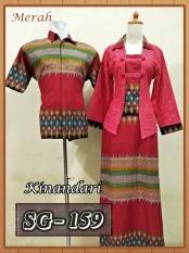 Sarimbit Gamis Batik Couple Baju Pasangan Batik Pekalongan Murah 13