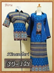 Sarimbit Gamis Batik Couple Baju Pasangan Batik Pekalongan Murah 16