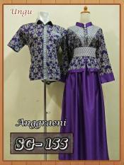 Sarimbit Gamis Batik Couple Baju Pasangan Batik Pekalongan Murah 2