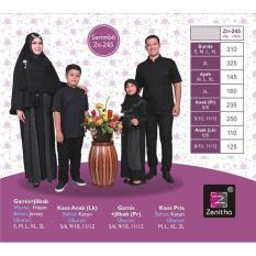 Sarimbit Keluarga Zenitha 245 / Couple Busana Muslim - Ait3yz