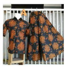 Sarimbit/Couple Kemeja N Celana Kulot Batik