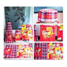 Sarung Anak Khairy Boi Merah Produk Tasikmalaya