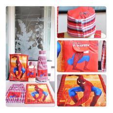 Sarung Anak Khairy Derman Merah Produk Tasikmalaya